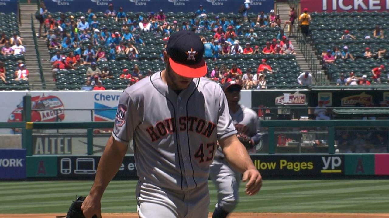 McCullers goes six innings