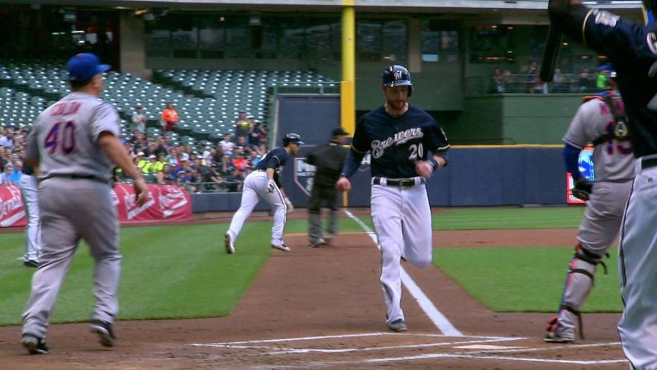 Brewers hand Colon, Mets 7th straight loss