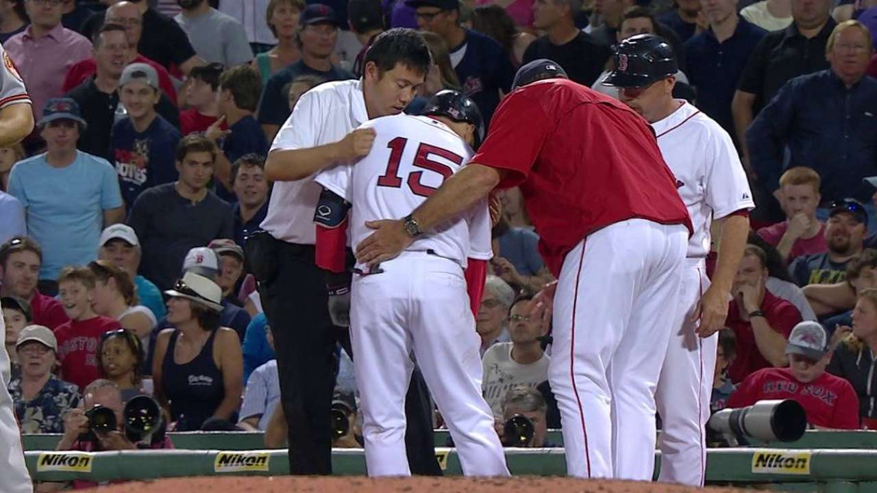 Pedroia returns as Red Sox open second half