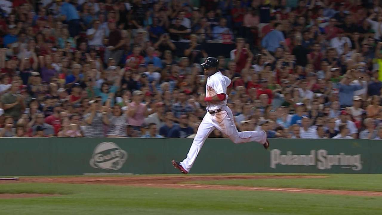 Bats back Buchholz as Red Sox sink O's