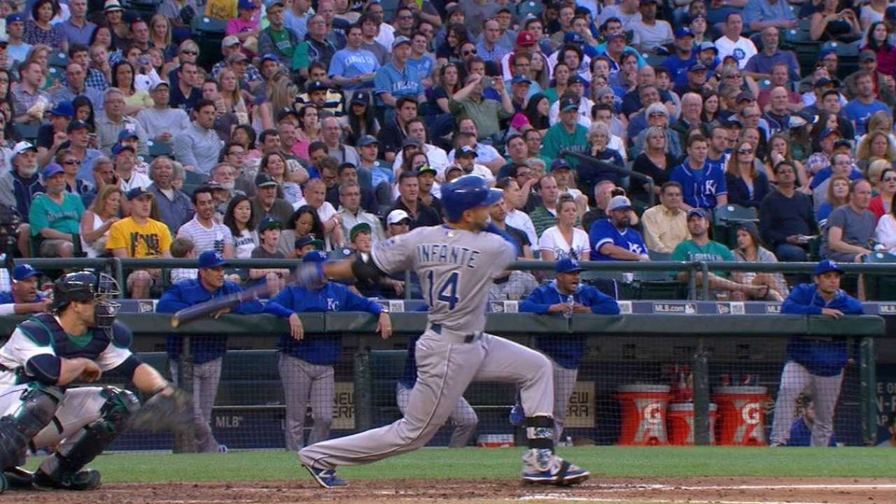 Infante's bases-loaded double