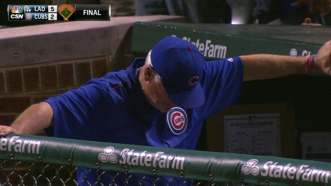 Cubs challenge final out