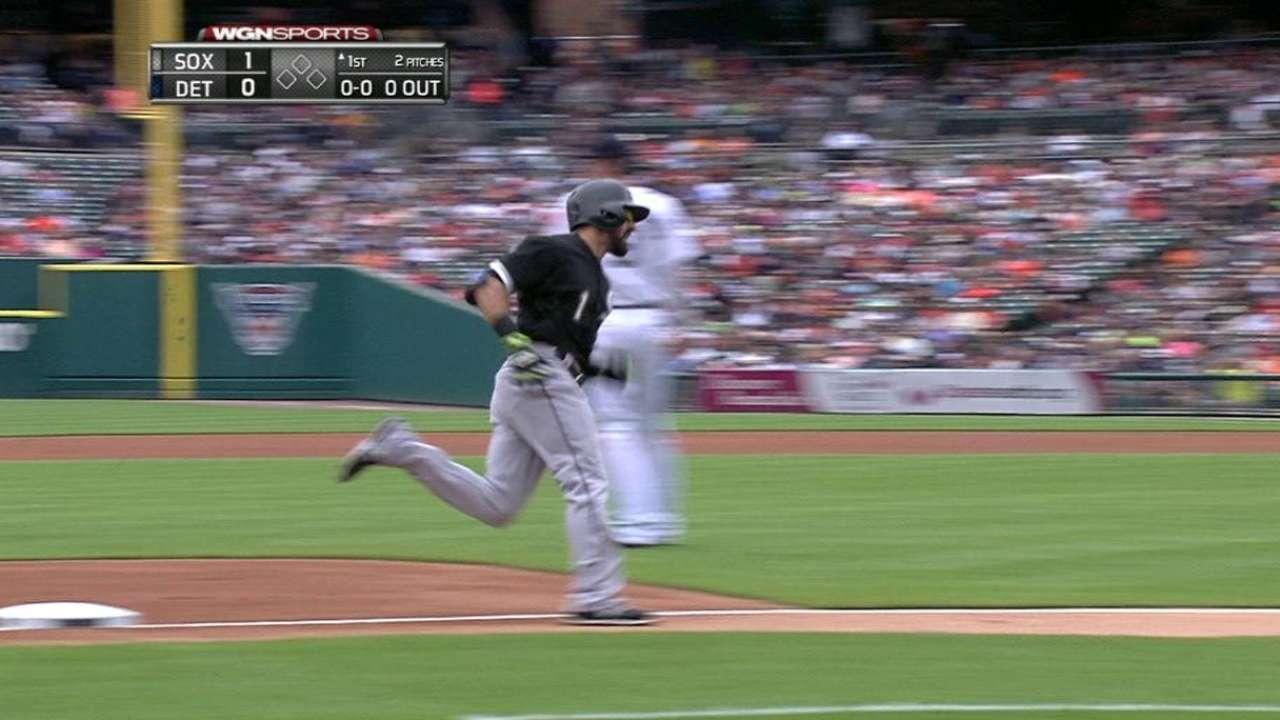 Eaton's leadoff homer