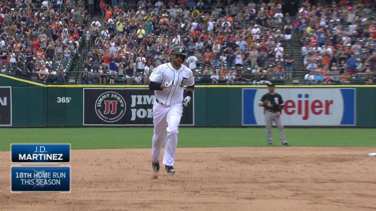 J.D. Martinez's two-run homer