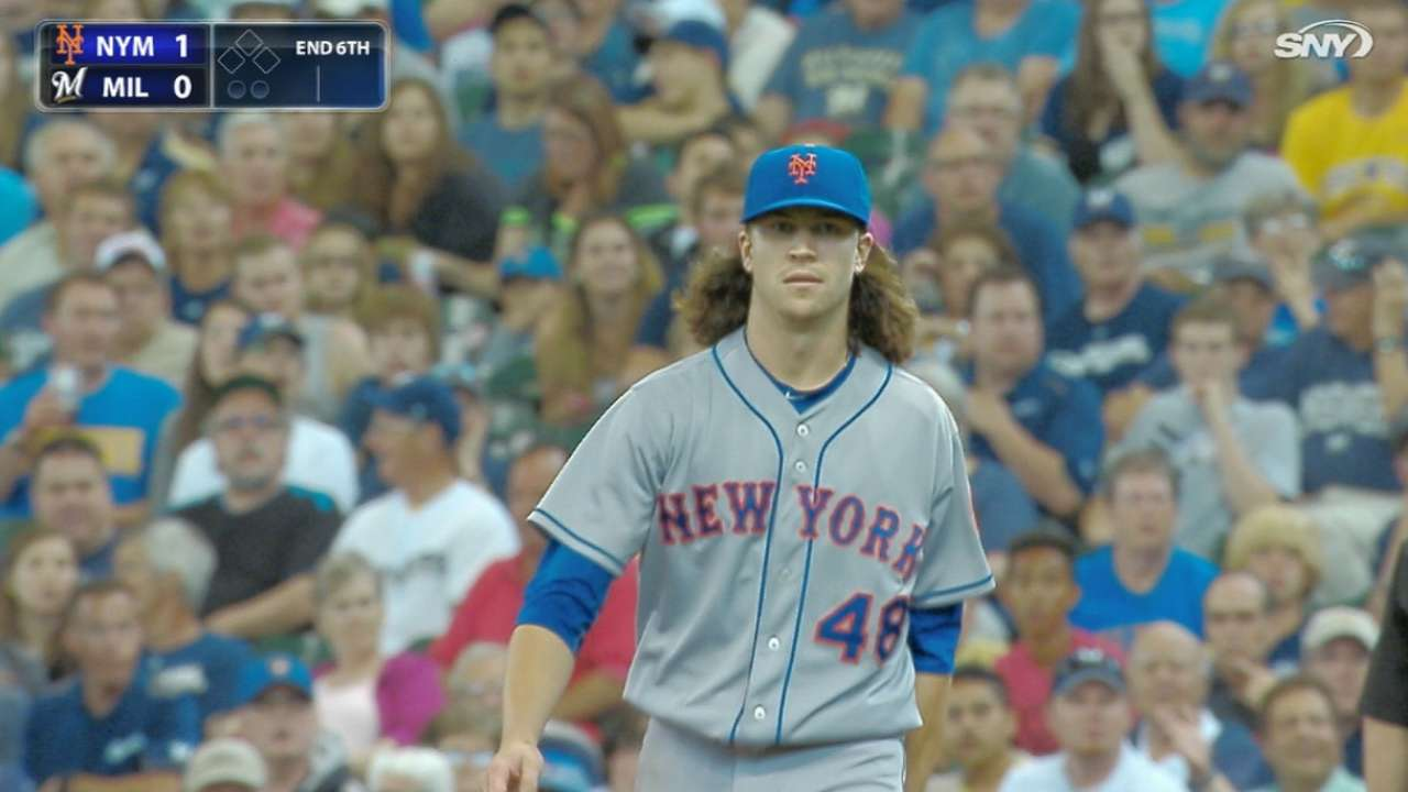 deGrom's dominant outing