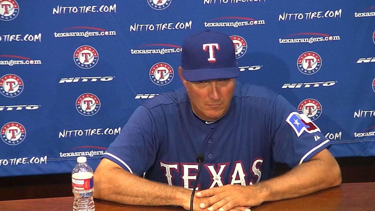 Banister on 6-3 loss to A's
