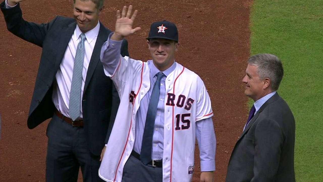 Bregman on joining Astros