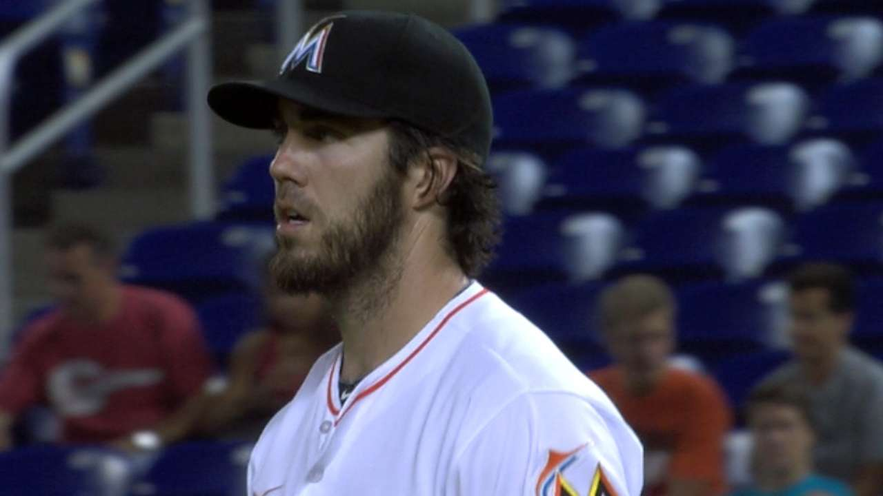 Haren's six strikeouts