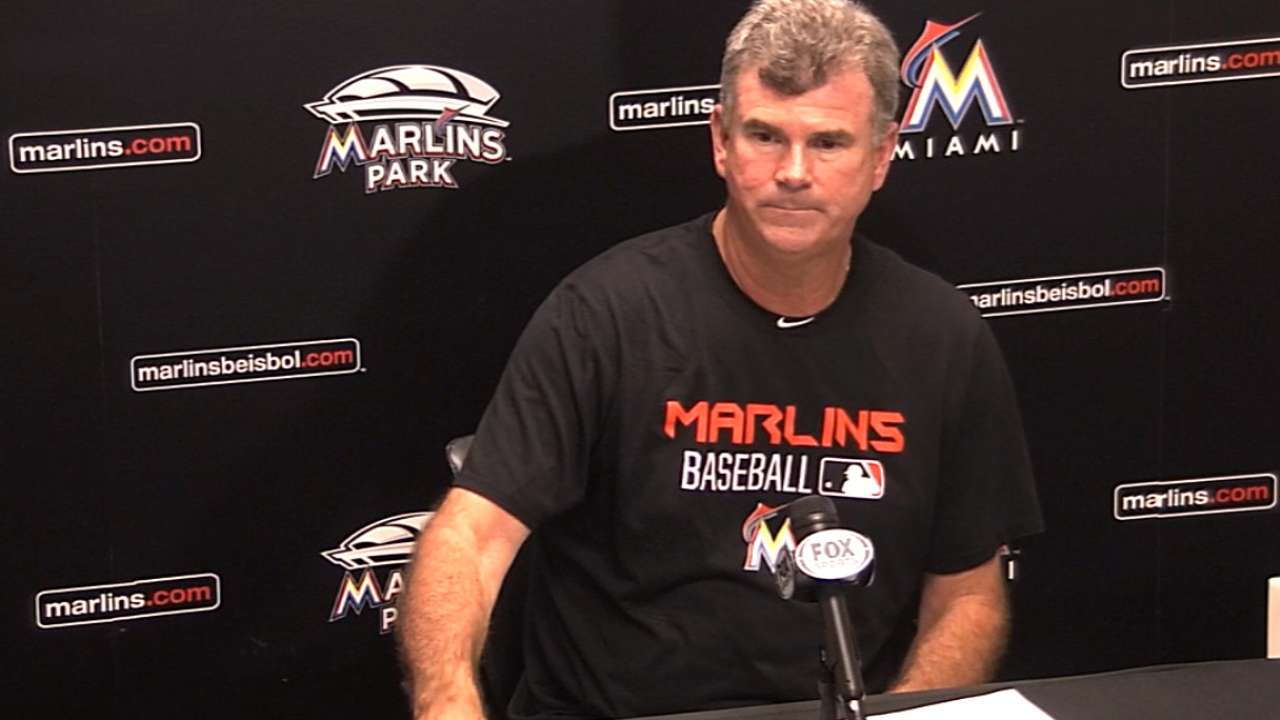 Jennings on the Marlins' loss