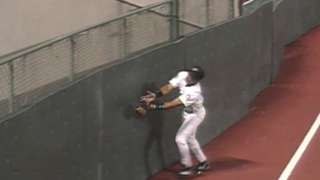 1996 ASG: Sheffield makes basket catch in foul ground