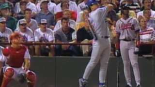 1995 ASG: Piazza hits his first All-Star homer