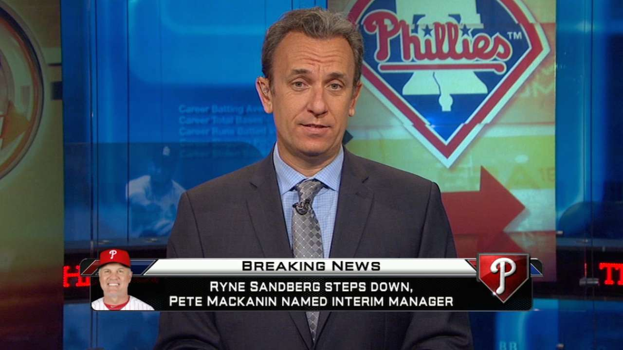 MLBN on Sandberg stepping down