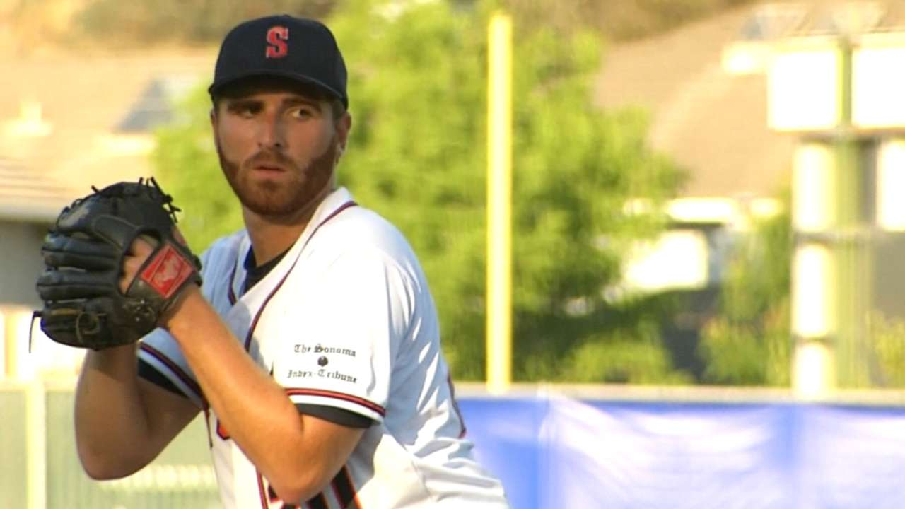Sean Conroy on his pro debut