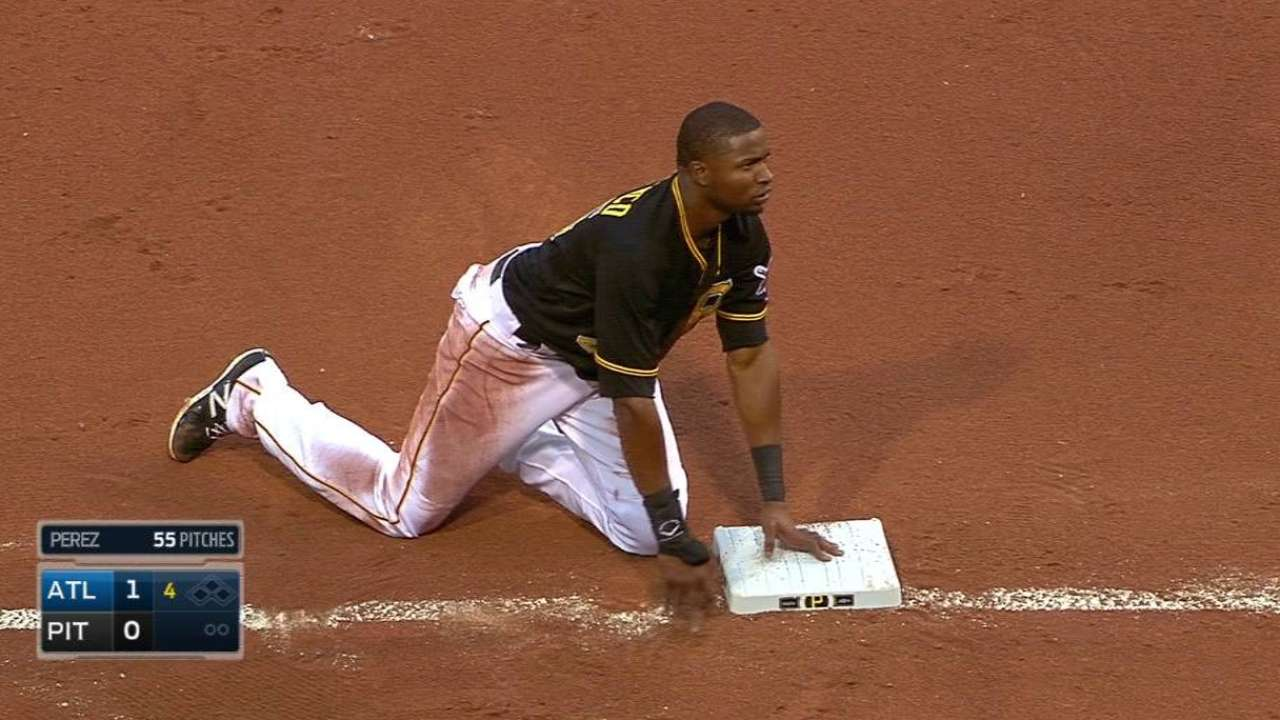 Hurdle addresses Polanco's baserunning gaffe