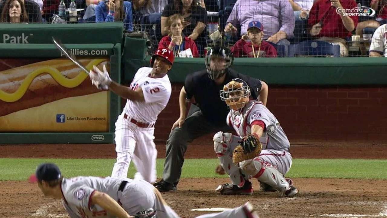 Revere's solo home run