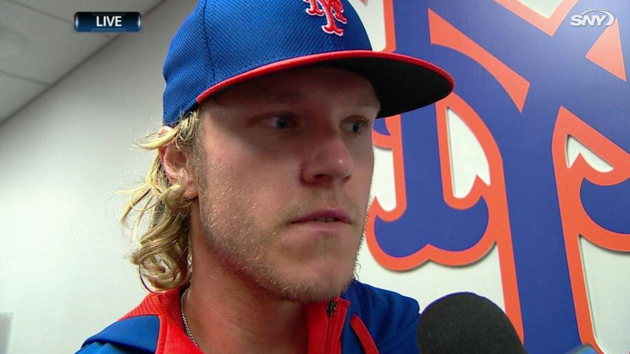 Reds have no answers for Syndergaard