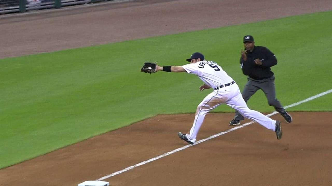 Castellanos shows off the arm