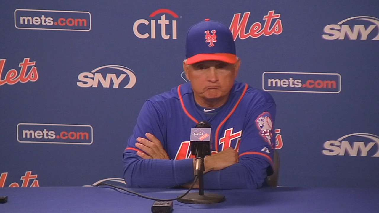 Collins on Mets' 2-1 victory