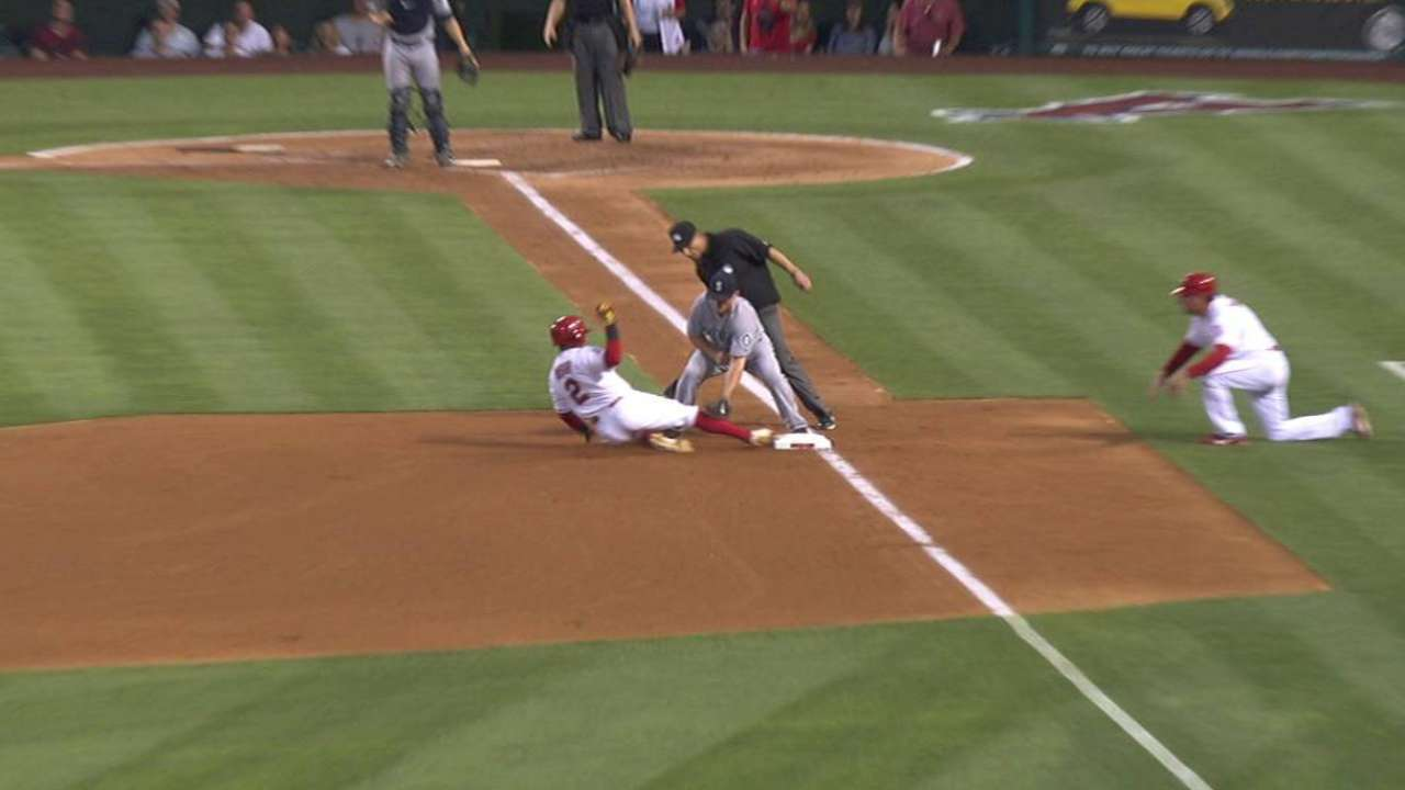 Relay nabs Aybar at third
