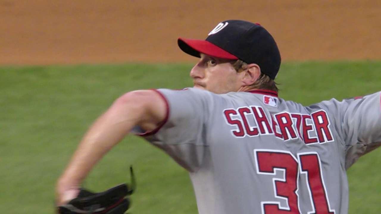 Imperfect Scherzer still dominant over Phillies