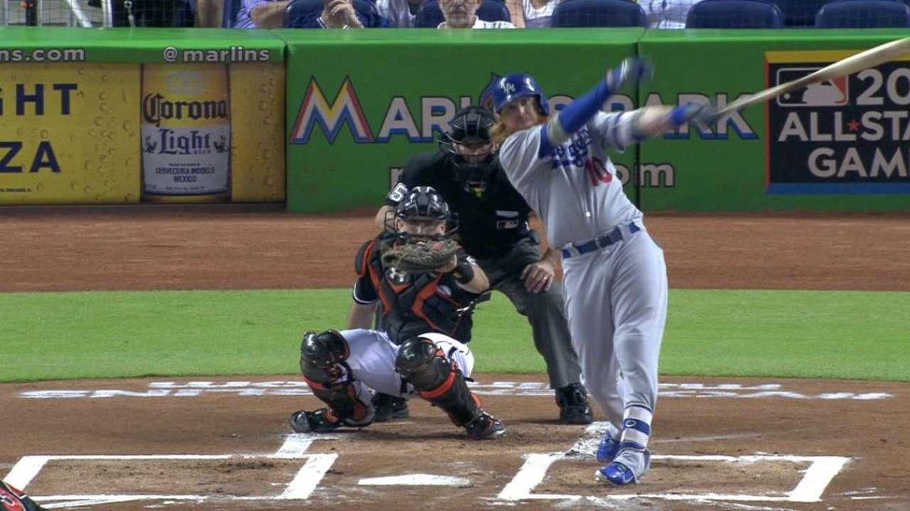 Kershaw y Dodgers no pudieron frenar a los Marlins en Miami