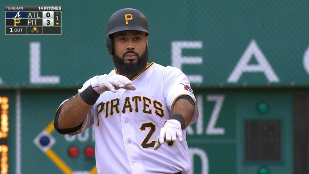 Pirates' five-run inning