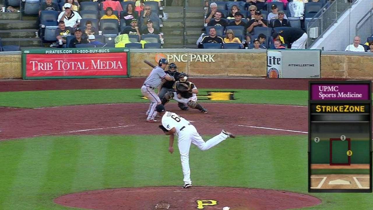 Morton eats innings, but saves bite for Guerra
