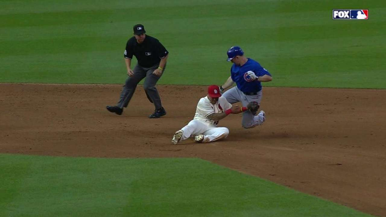 Cards turn tough double play