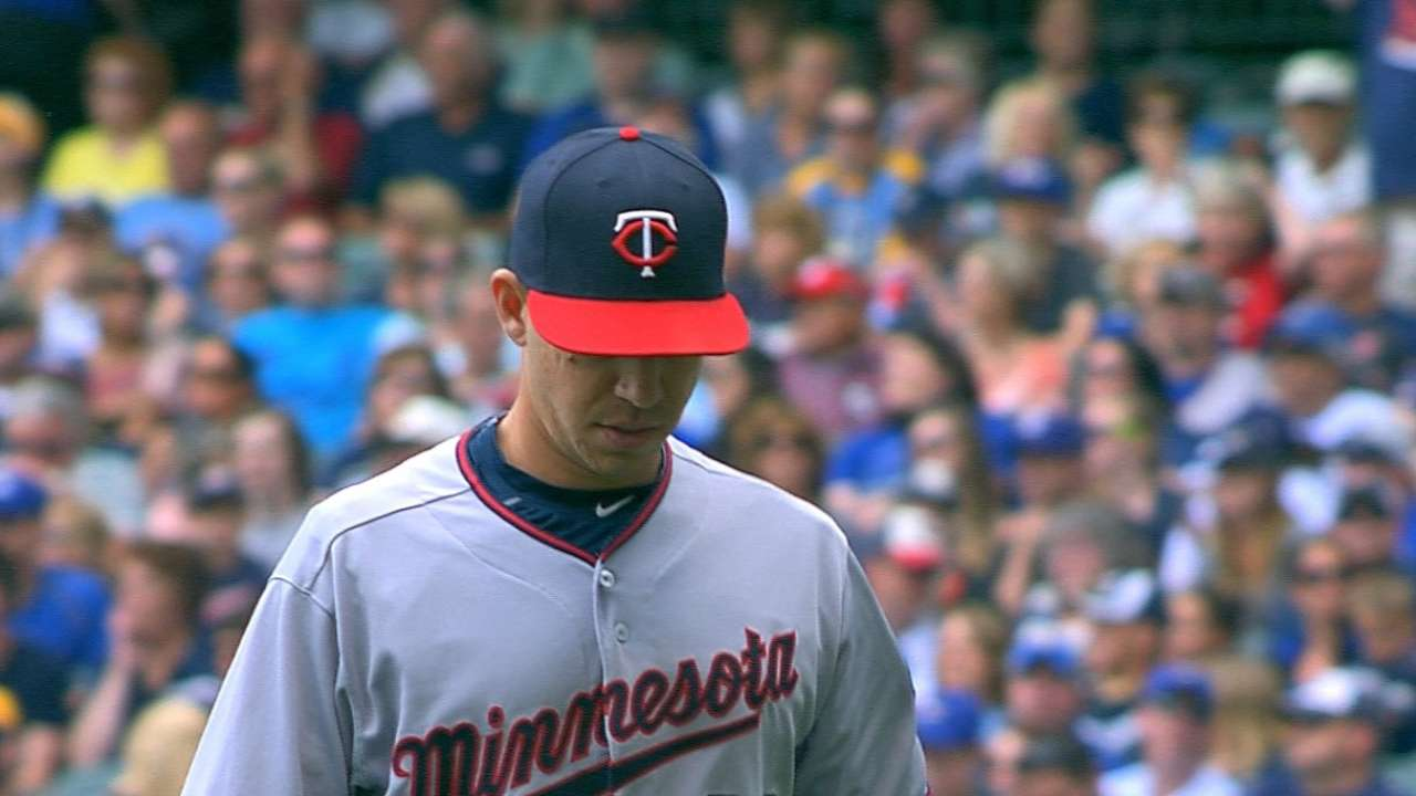 Milone, Twins looking to stay tough on Royals