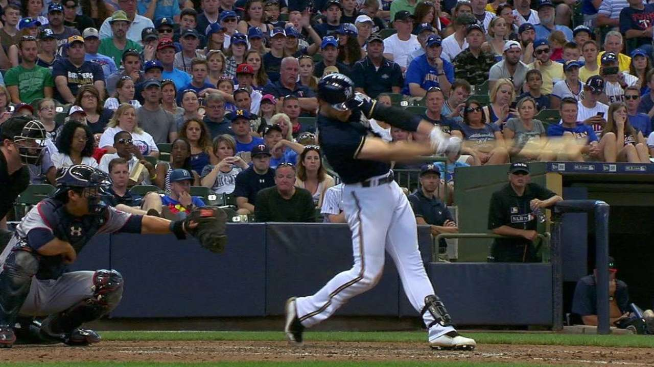 Brewers finally find power at Miller Park