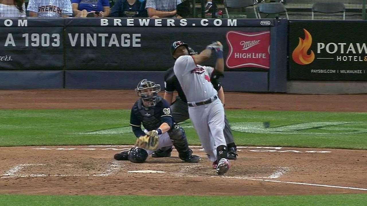 Hunter's two-run homer