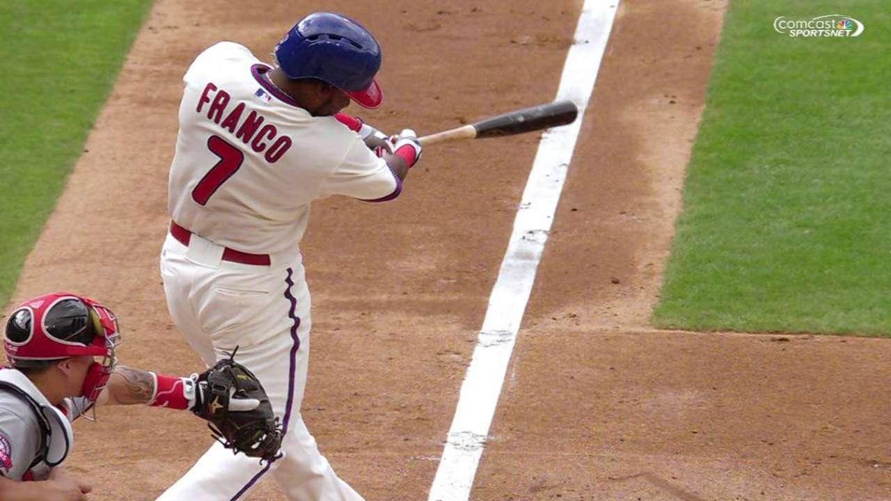 Franco, Phillies need final All-Star ballot push