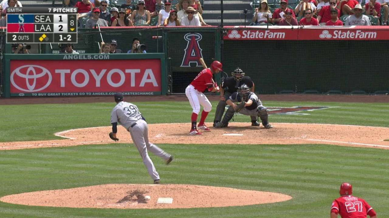 Smith escapes jam with strikeout