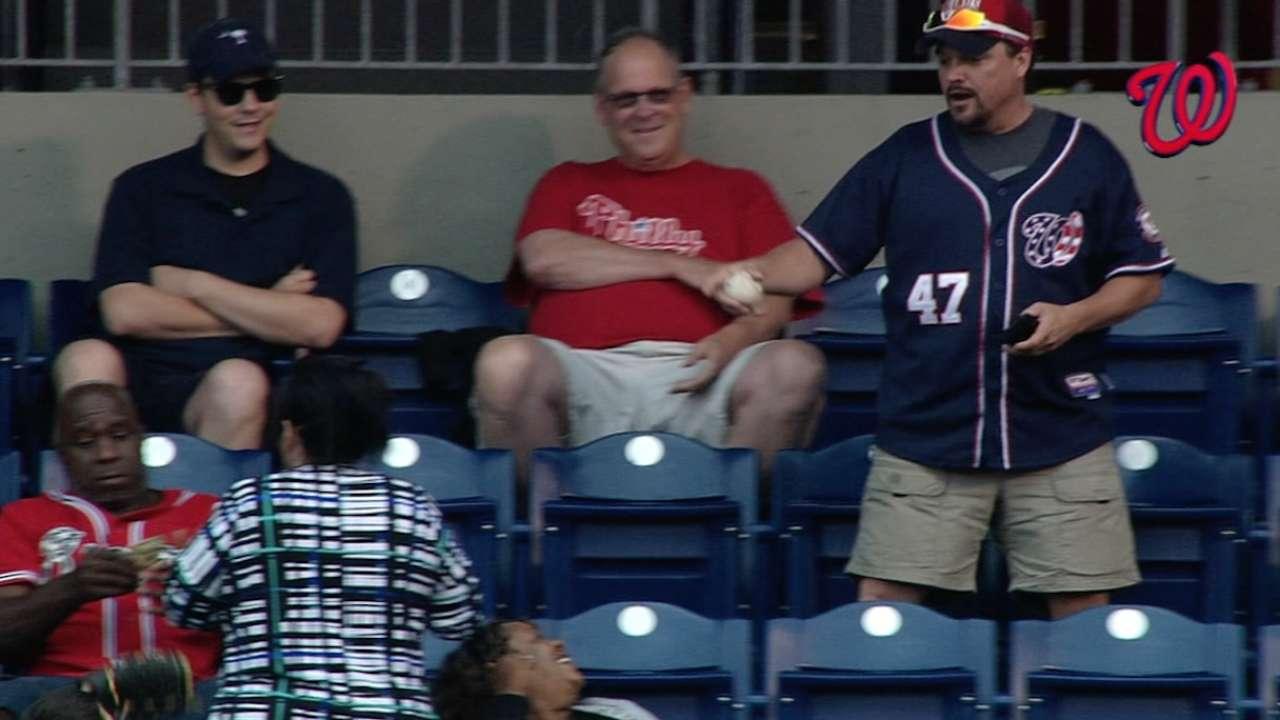 Lobaton homers, fan buys ball