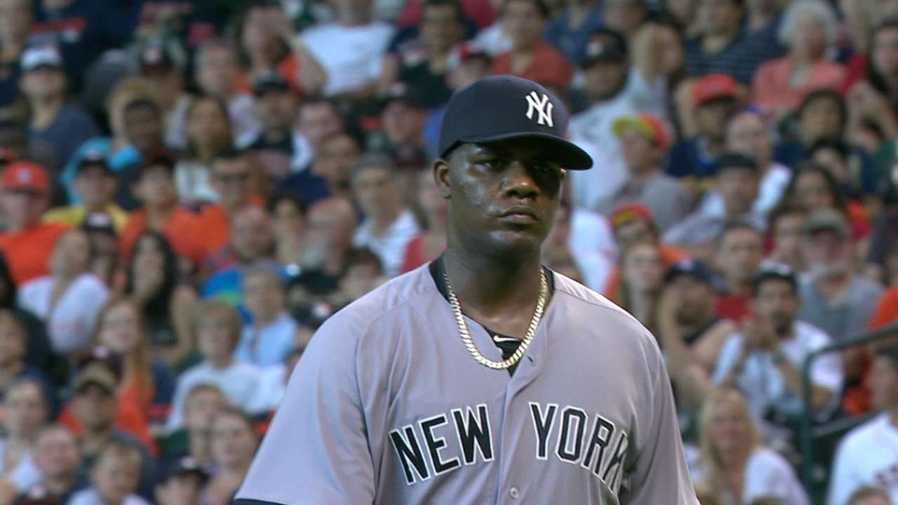 Pineda's eight strikeouts