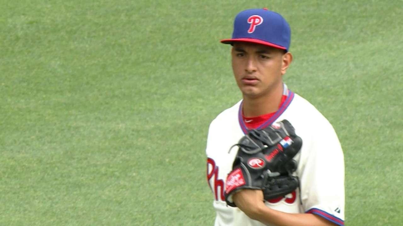 Gonzalez's seven strikeouts