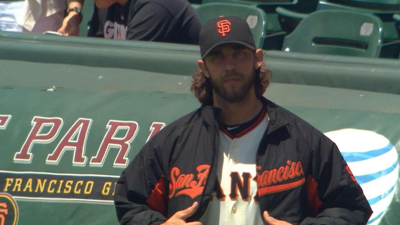 Bumgarner backed by Duffy to down Rockies