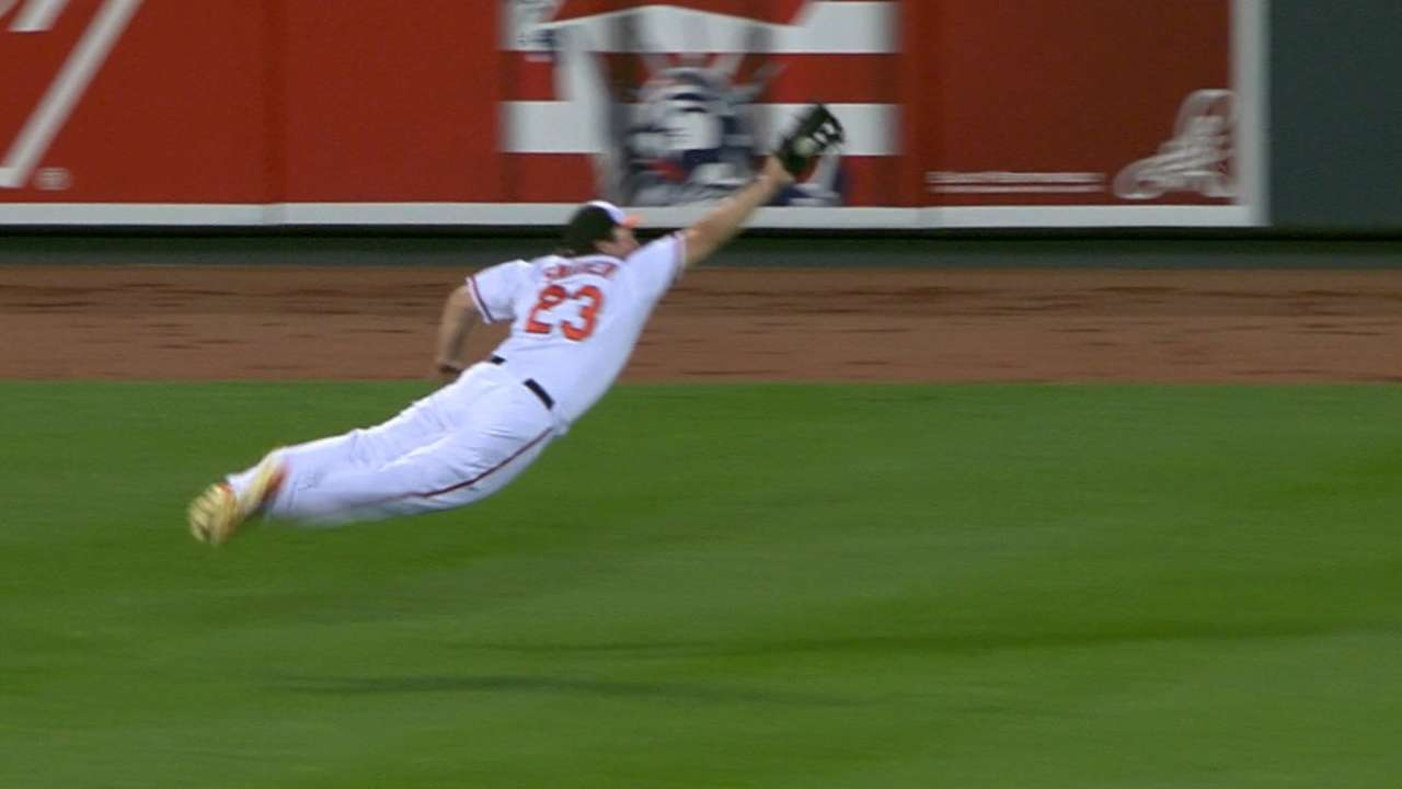 Must C: Snider's diving catch