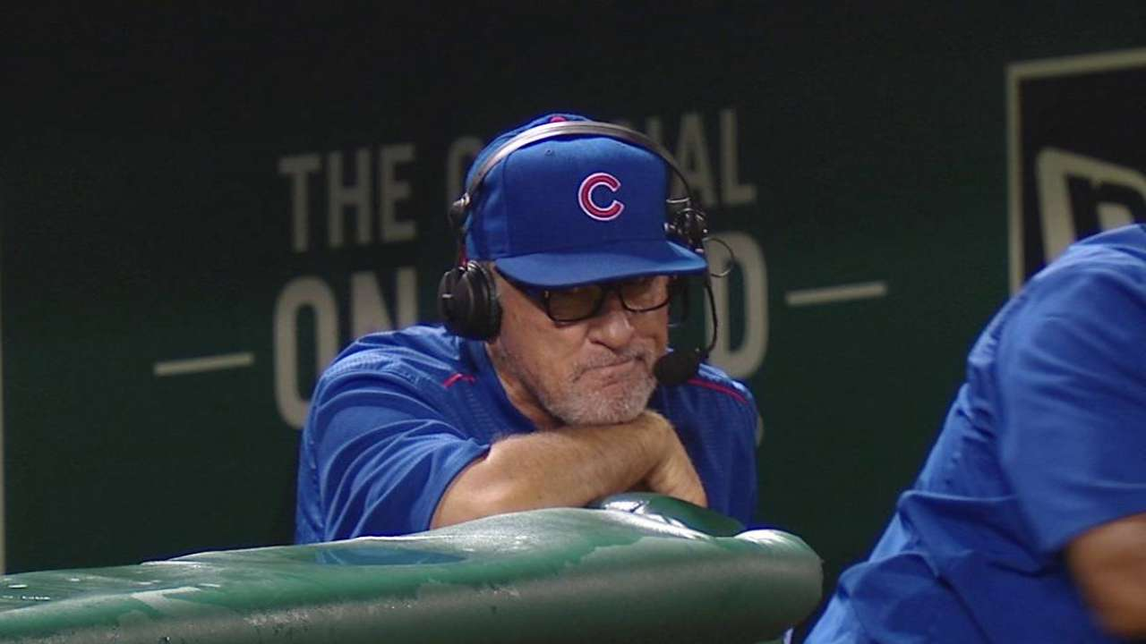 Magic touch? Maddon keeps things light