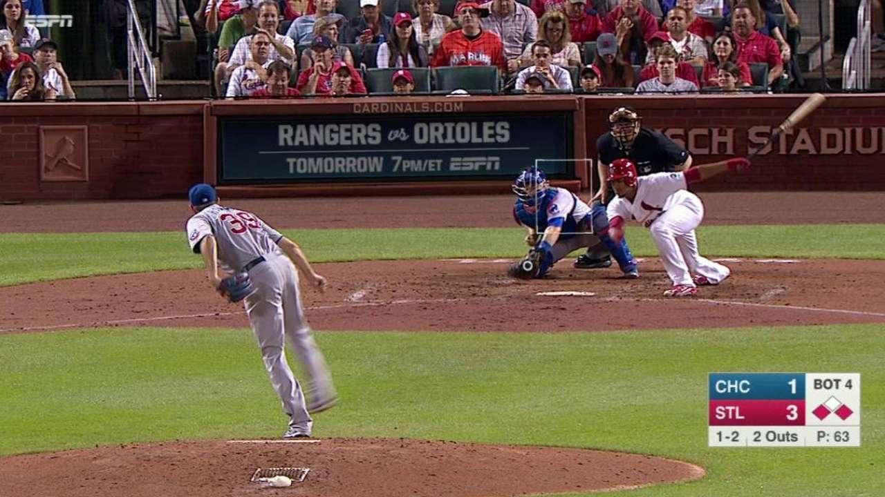 Hammel strikes out Martinez