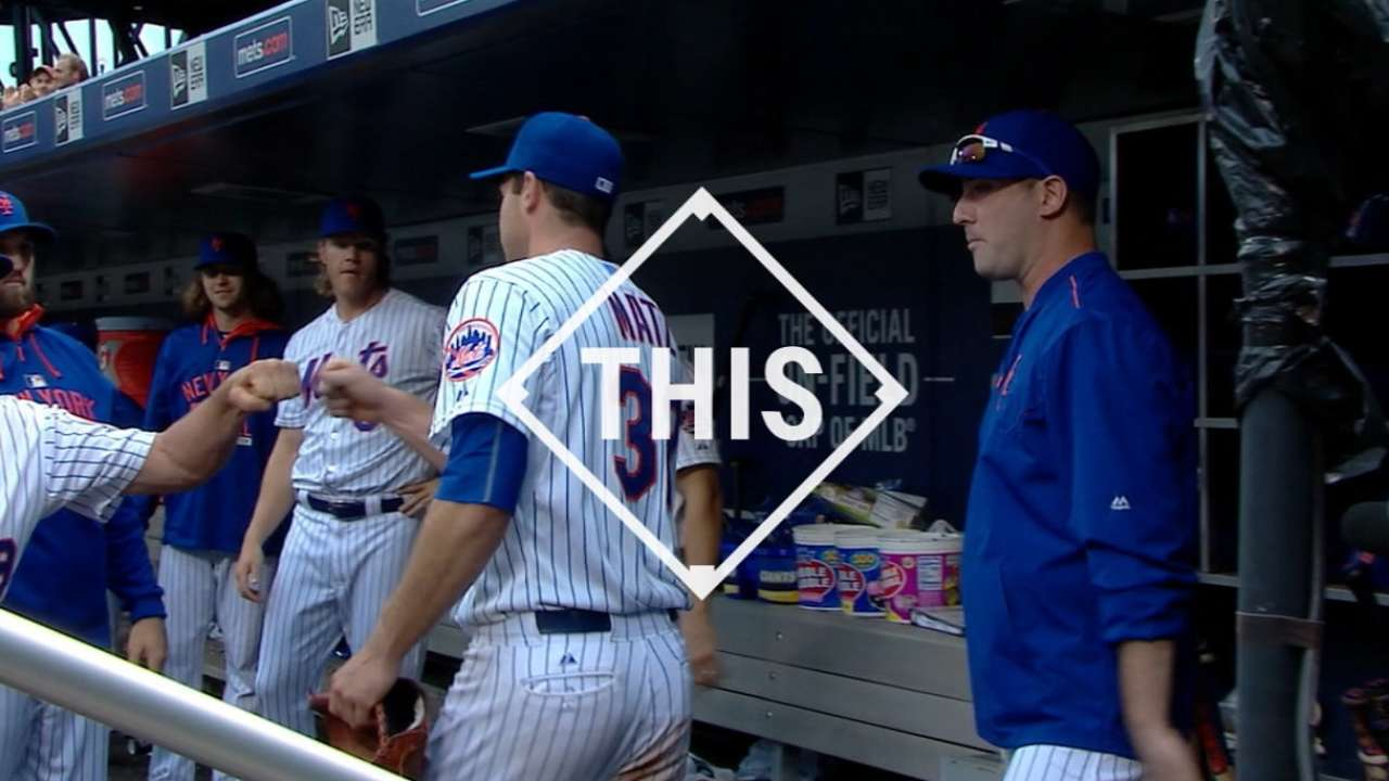 #THIS: Matz's historic debut