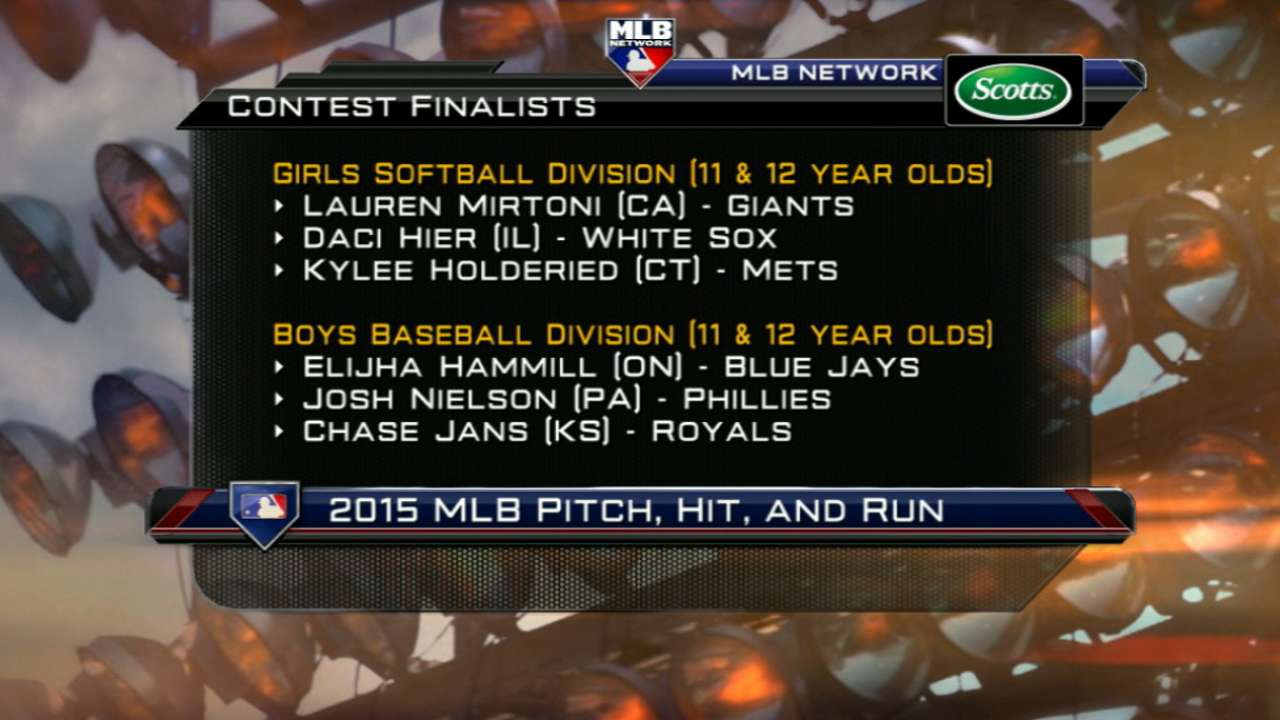 Pitch, Hit & Run finalists announced