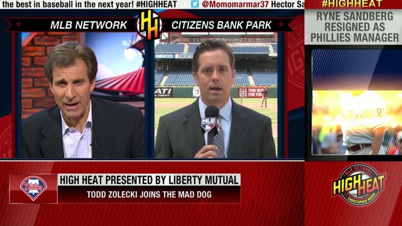 Todd Zolecki on High Heat