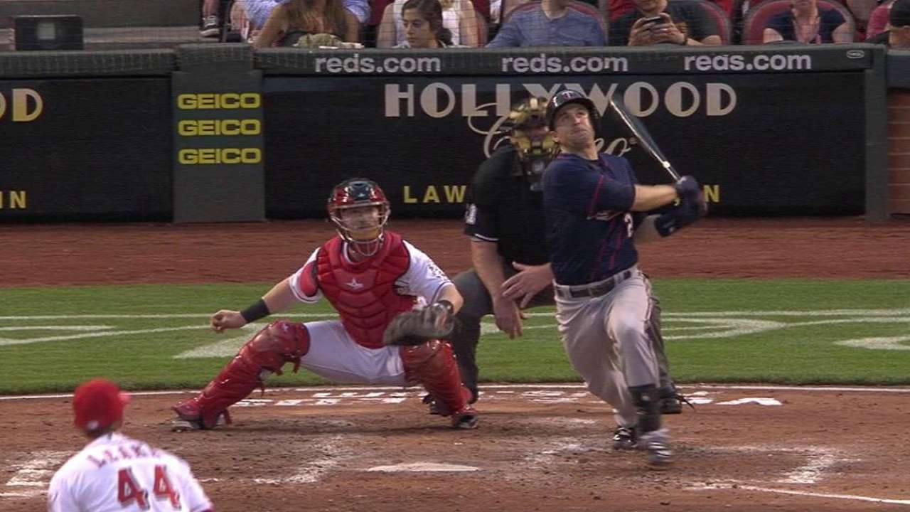 Dozier's three-run homer