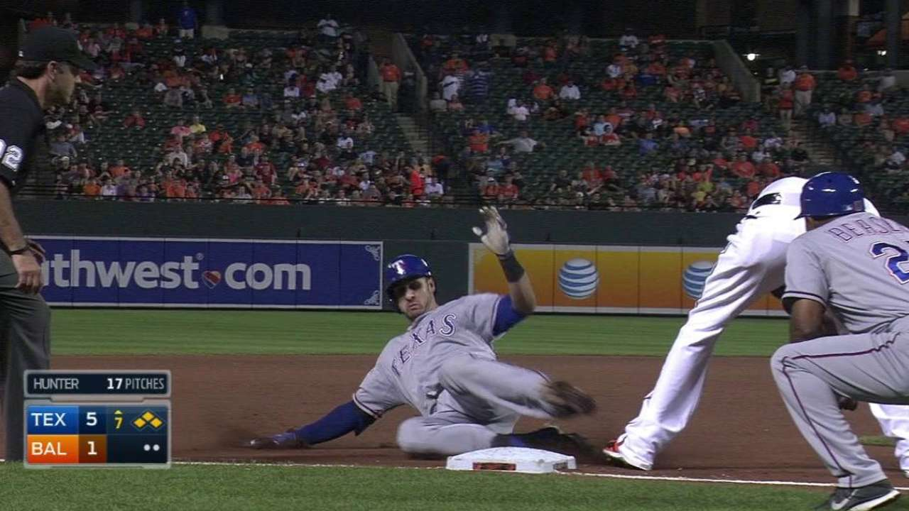 Gallo's bases-clearing triple