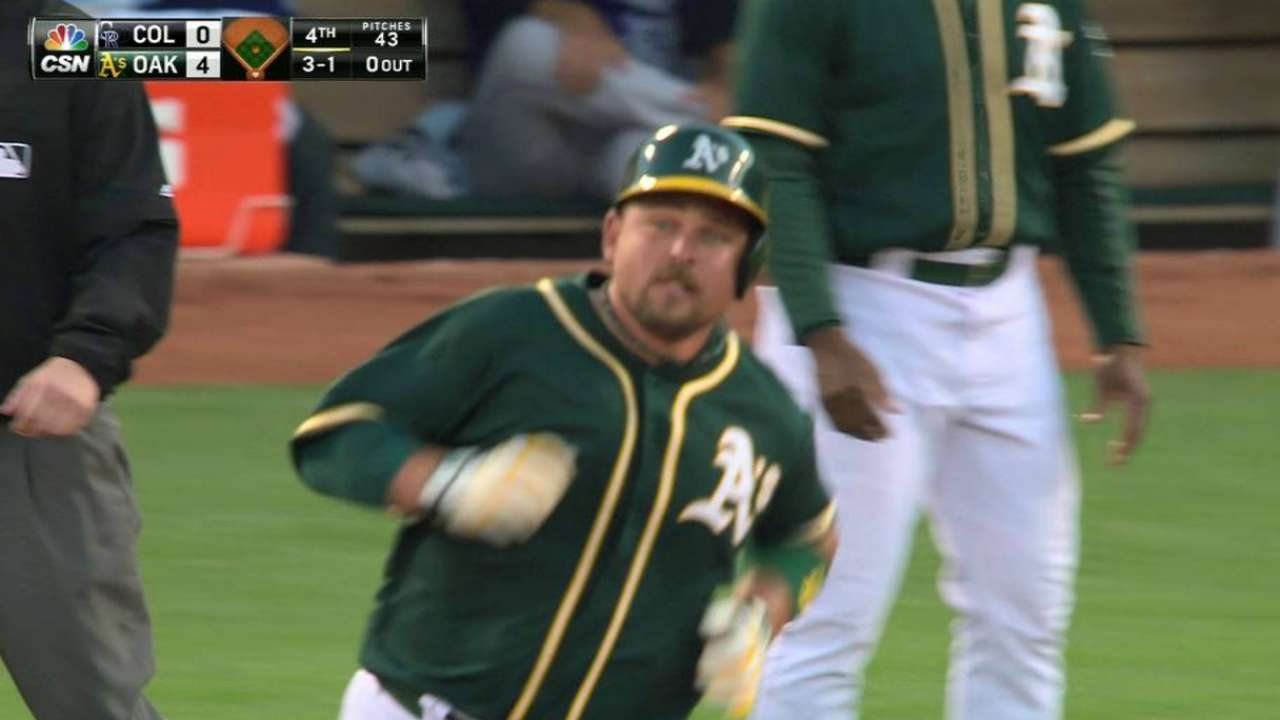 Butler: A's offense can be 'dangerous'