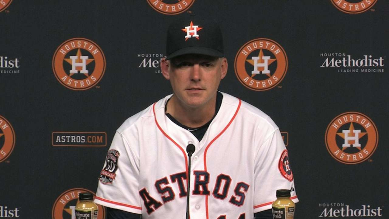 Hinch on McCullers, Astros' win