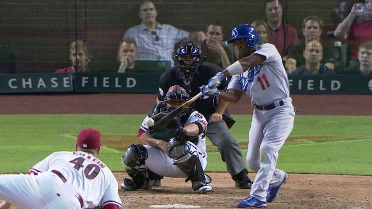 Dodgers can't hold off pesky D-backs