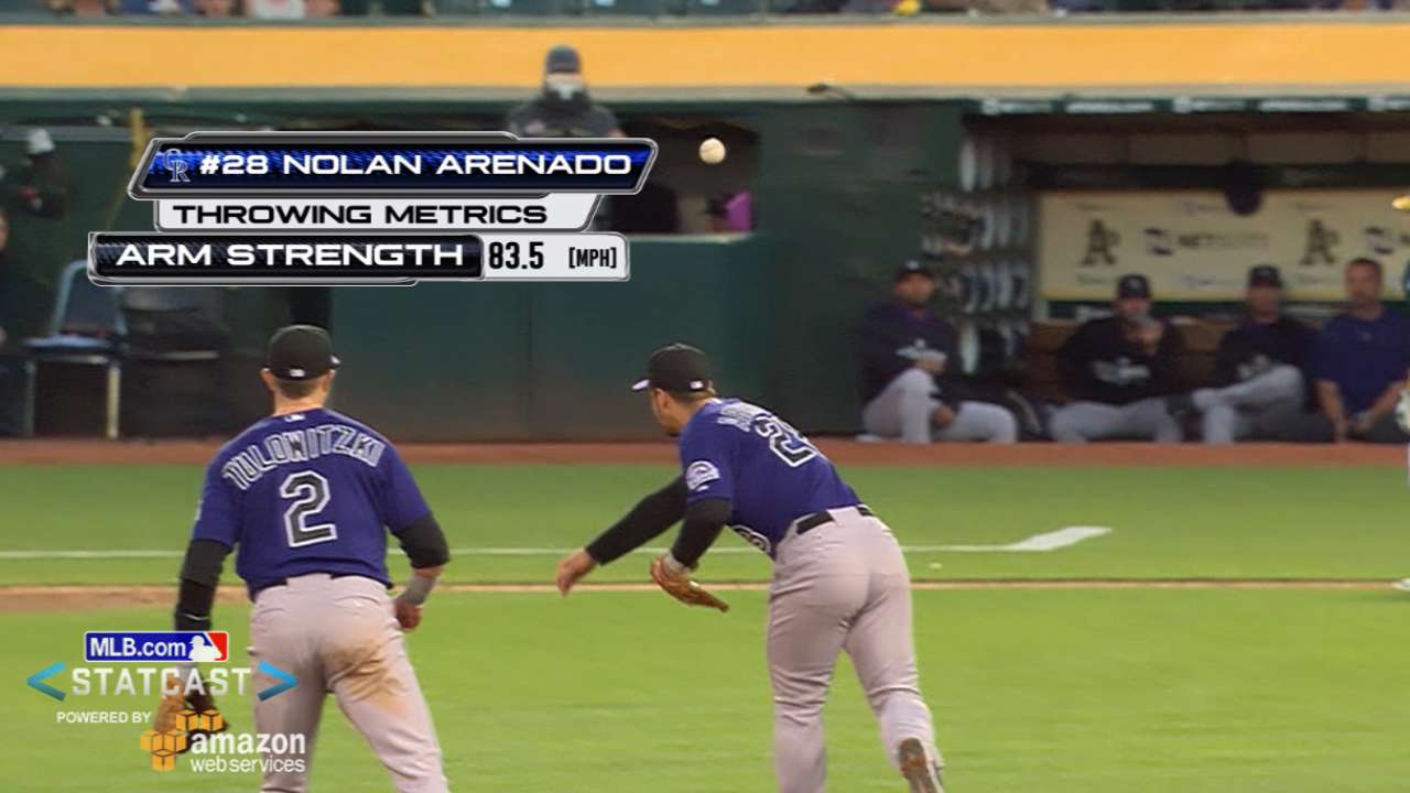 Statcast: Arenado's great play