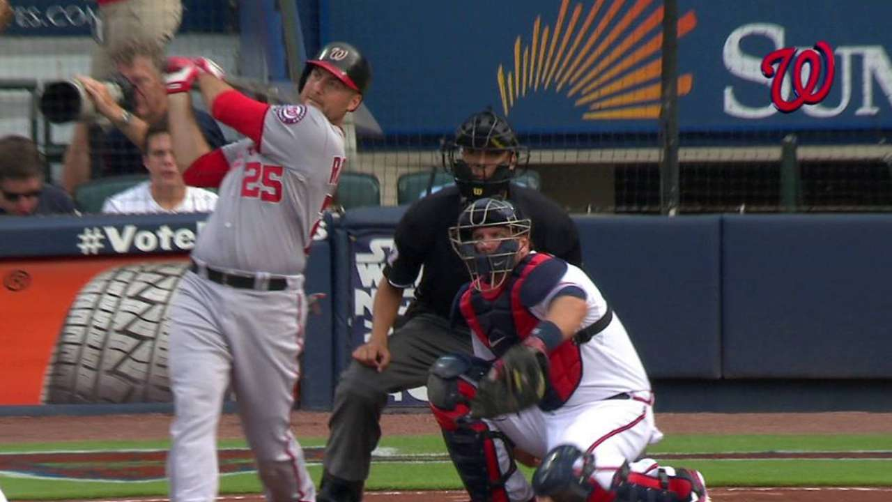 Nats cruise following four-run first inning